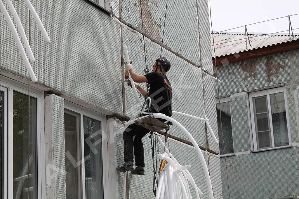 Герметизация межпанельных швов на балконах