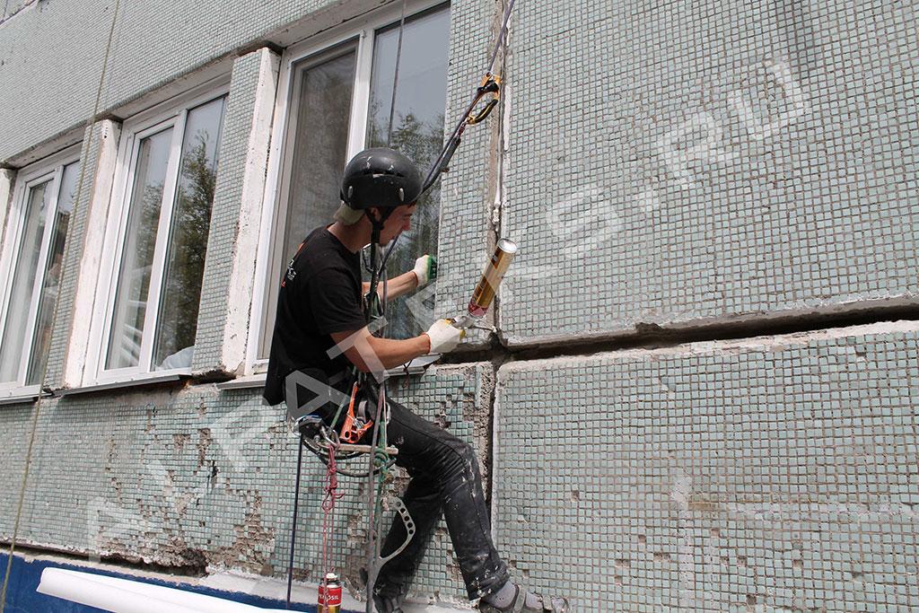 Промышленные альпинисты в нижнем новгороде